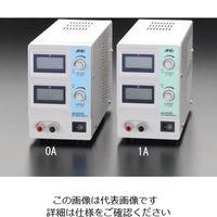 エスコ(esco) AC100V→DC0-30V/1.5A直流安定化電源 1個 EA812-0A (直送品)