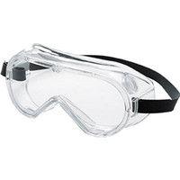 TRUSCO(トラスコ中山) 一眼型保護 マスク併用 飛来粉塵用セーフティゴーグル ポリカーネートレンズ GS110 1個 126-3773 (取寄品)