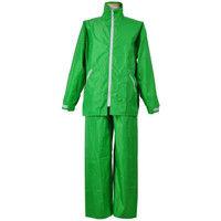 コヤナギ R9465001148 レインスーツ イージーレイン EZー55 緑 LL 1着 (直送品)