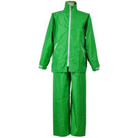 コヤナギ R9465001149 レインスーツ イージーレイン EZー55 緑 3L 1着 (直送品)
