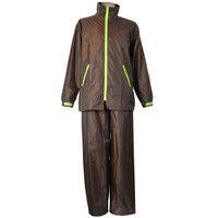 コヤナギ R9465001178 レインスーツ イージーレイン EZー55 ブラウン4L 1着 (直送品)