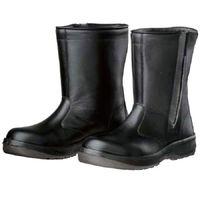 ドンケル R9209022306 ワイド樹脂先芯 耐滑安全靴 ダイナスティPU2Dー7006 黒 23.5cm 1足 (直送品)