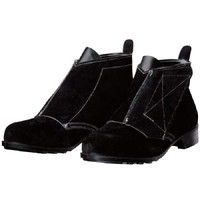 DONKEL(ドンケル) 耐熱 安全靴 T-2 ブラック 23.5cm(3E) R92090232 1足 (直送品)
