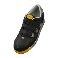 ドンケル R209011817 ディアドラ安全作業靴 アイビス IBー22 黒29.0cm 1足 (直送品)