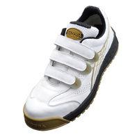 ドンケル R209016008 ディアドラ安全作業靴 ロビン RBー11 白24.5cm 1足 (直送品)