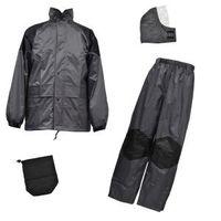R9473803700 雨衣 Fー8300 灰 M クリティカルハード 1着 福徳産業 (直送品)