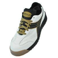 ドンケル R209014606 ディアドラ安全作業靴 ピーコック PCー12白&ブラック 23.5cm 1足 (直送品)