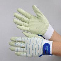 R9448001116 作業手袋 ノンスリップライトPパターン マジック白 L 1セット(5双入) 福徳産業 (直送品)