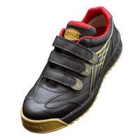 ドンケル R209016109 ディアドラ安全作業靴 ロビン RBー22 黒25.0cm 1足 (直送品)