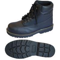ミドリ安全 R2125010010 先芯入作業靴 ワークプラス MPWー20 黒25.5cm 1足 (直送品)