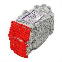 R9473803613 作業手袋 MIX軍手 S 12双入 1セット(10打入) 福徳産業 (直送品)