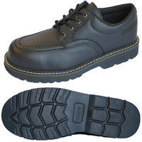 ミドリ安全 R2125010108 先芯入作業靴 ワークプラス MPWー10 黒24.5cm 1足 (直送品)