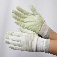 R9448001015 作業手袋 ノンスリップライトPパターン 甲メリ 白M 1セット(5双入) 福徳産業 (直送品)