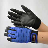 R9448001106 作業手袋 ノンスリップライトPパターン マジック青 LL 1セット(5双入) 福徳産業 (直送品)