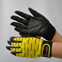 R9448001108 作業手袋 ノンスリップライトPパターン マジック黄 L 1セット(5双入) 福徳産業 (直送品)