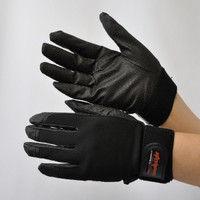 R9448001111 作業手袋 ノンスリップライトPパターン マジック黒 M 1セット(5双入) 福徳産業 (直送品)
