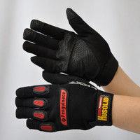 R9448002002 作業手袋 HUSOLID ヒューソリッド Hー1M 1セット(5双入) 福徳産業 (直送品)