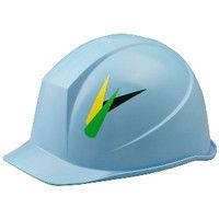 ミドリ安全 デザインヘルメット ABS ヤングリーブス&スカイ 頭囲/55cm~62cm 1個 4001501134 (直送品)