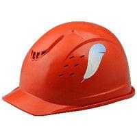 ミドリ安全 デザインヘルメット ABS ウィングチップ&オレンジ 頭囲/55cm~62cm 1個 4001501309 (直送品)