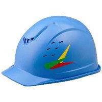 ミドリ安全 デザインヘルメット ABS ヤングリーブス&ブルー 頭囲/55cm~62cm 1個 4001501333 (直送品)