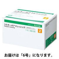 アルケア シルキーポアドレッシング 6号 12005 1セット(40枚:20枚入×2箱) (取寄品)