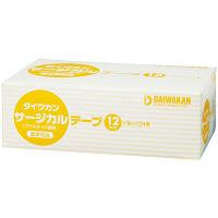 大和漢 ダイワカンサージカルテーププラスチック透明 12mm×9m 4021290 1箱(24巻入)