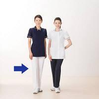 AITOZ(アイトス) レディースパンツ(スリムストレート) ナースパンツ 医療白衣 ホワイト 5L 861366-001 (直送品)