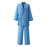 患者衣(男女兼用)パンツ 59-481 ブルー L