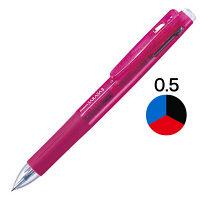 ゼブラ サラサ3 3色ボールペン 0.5mm ワイン軸 J3J2-WR 1本