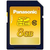 パナソニック SDHCカード 8GB Class10 ( RP-SDWA08GJK )