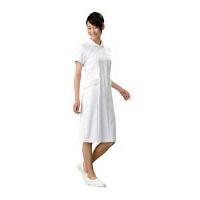 オンワード 白衣 OP-3015 ワンピースホワイト L 1枚 (取寄品)