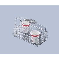 三和化研工業 尿コップ立 60-6 6本立 2×3配列 22068 1個 0-9562-01(直送品)