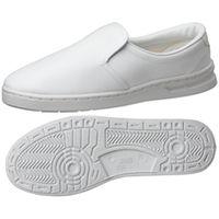 ミドリ安全 2105105002 男女兼用 静電作業靴 エレパス M101 白21.5cm 1足 (直送品)