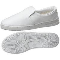 ミドリ安全 2105105007 男女兼用 静電作業靴 エレパス M101 白24.0cm 1足 (直送品)