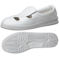 ミドリ安全 2105105302 男女兼用 静電作業靴 エレパス M102 白大サイズ 29.0cm 1足 (直送品)