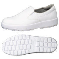 ミドリ安全 2125026208 超耐滑軽量作業靴ハイグリップ Hー400N 白24.5cm 1足 (直送品)