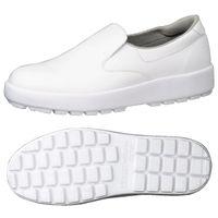 ミドリ安全 2125026212 超耐滑軽量作業靴ハイグリップ Hー400N 白26.5cm 1足 (直送品)