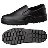 ミドリ安全 2125026407 超耐滑軽量作業靴ハイグリップ Hー400N 黒24.0cm 1足 (直送品)