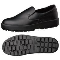 ミドリ安全 作業靴 耐滑 スリッポン H400N 大 先芯なし 30.0cm ブラック 1足 2125026503(直送品)
