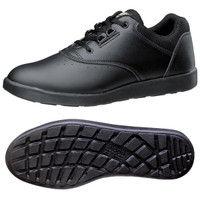 ミドリ安全 2125021206 超軽量耐滑作業靴ハイグリップ Hー810 紐タイプ黒 23.5cm 1足 (直送品)