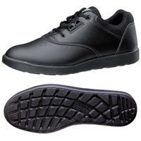 ミドリ安全 2125021207 超軽量耐滑作業靴ハイグリップ Hー810 紐タイプ黒 24.0cm 1足 (直送品)