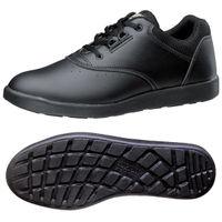 ミドリ安全 2125021208 超軽量耐滑作業靴ハイグリップ Hー810 紐タイプ黒 24.5cm 1足 (直送品)