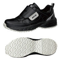 ミドリ安全 2125035613 ビルメンテナンス業向け作業靴 BMGー15マジックタイプ 黒 27.0cm 1足 (直送品)