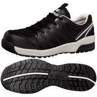 ミドリ安全 JSAA認定 作業靴 プロスニーカー MPN301 30.0cm ブラック 1足 2125055018(直送品)