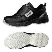 ミドリ安全 2125035608 ビルメンテナンス業向け作業靴 BMGー15マジックタイプ 黒 24.5cm 1足 (直送品)