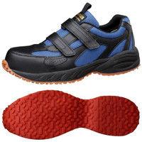ミドリ安全 2125059109 先芯入り屋根上作業靴ヤネグリップ YGー15黒/ブルー 25.0cm 1足 (直送品)