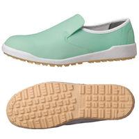 ミドリ安全 2125065606 超耐滑作業靴ハイグリップ Hー100C 緑23.5cm 1足 (直送品)