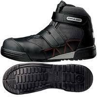ミドリ安全 JSAA認定 建設業 作業靴 中編上 ハイカット MPC525 29.0cm ブラック 1足 2125059317(直送品)