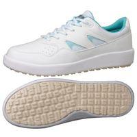 ミドリ安全 2125071415 超耐滑軽量作業靴ハイグリップ Hー710N紐タイプ 青 28.0cm 1足 (直送品)
