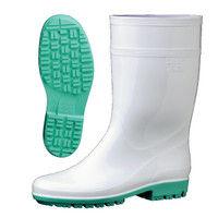 ミドリ安全 2130008007 ハイグリップ・脱環境ホルモン 長靴HG3000Nスーパー 白 24.0cm 1足 (直送品)